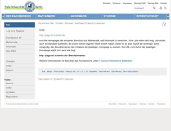 page.mi.fu-berlin.de screenshot