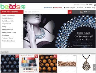 Main page screenshot of beads.cc