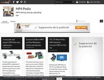 mp4-pedia.over-blog.com screenshot