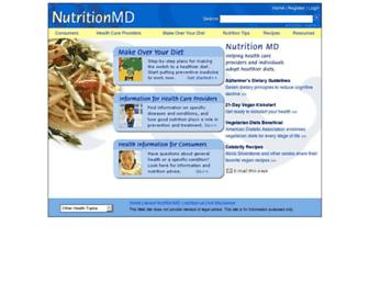 Thumbshot of Nutritionmd.org