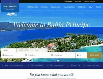 Thumbshot of Bahia-principe.com