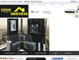 Thumbshot of Eversonimoveisitapema.com.br