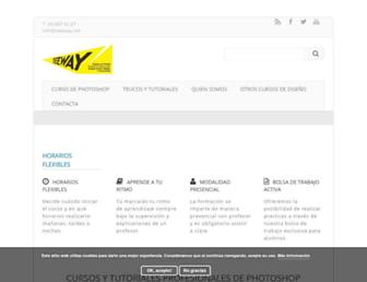 cursosphotoshopbarcelona.com screenshot