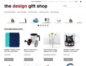 thedesigngiftshop.com screenshot
