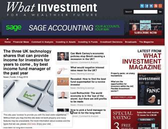 whatinvestment.co.uk screenshot