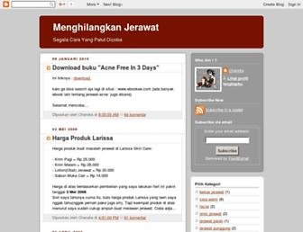 hilangkanjerawat.blogspot.com screenshot