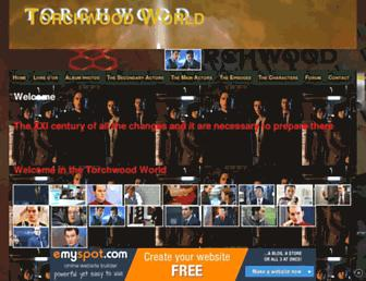 torchwoodworld.doomby.com screenshot