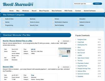microcular-i-pac-mac.mac.novellshareware.com screenshot