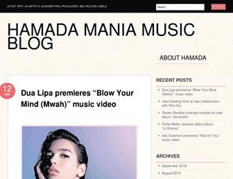 hamadamania.com screenshot