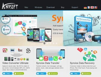 anvsoft.com screenshot