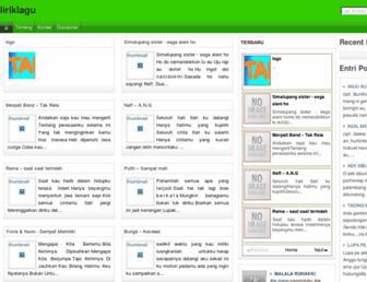 lyriclagubatak.blogspot.com screenshot