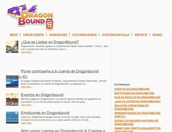 dragonbound-latino.blogspot.com screenshot