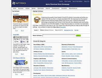 aptrio.com screenshot