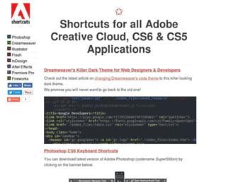 ultrashortcuts.com screenshot