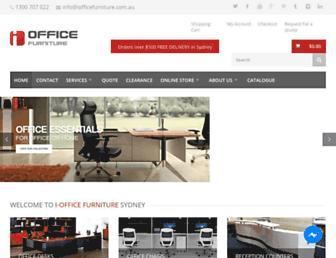 iofficefurniture.com.au screenshot