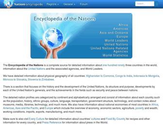Thumbshot of Nationsencyclopedia.com
