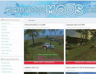 simulatormods.com screenshot
