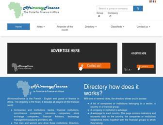 afrimoneyfinance.com screenshot