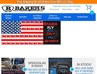 bakersgas.com screenshot