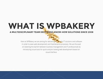 Thumbshot of Wpbakery.com