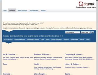 blogmetrics.org screenshot
