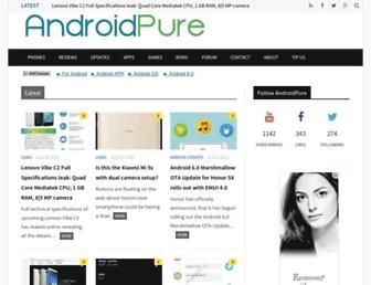 Thumbshot of Androidpure.com