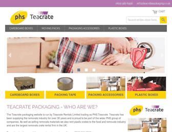 Thumbshot of Teacratepackaging.co.uk