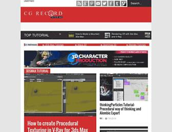 tutorials.cgrecord.net screenshot