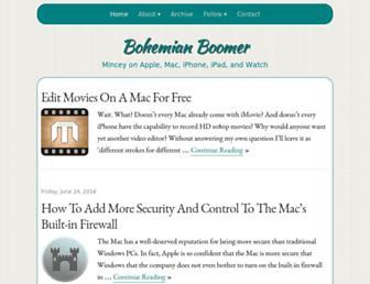 bohemianboomer.com screenshot