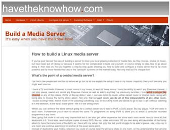 Thumbshot of Havetheknowhow.com