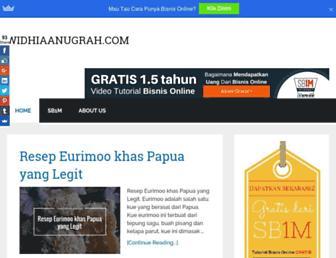 widhiaanugrah.com screenshot