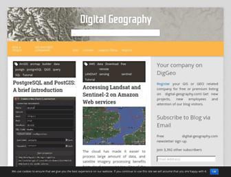 digital-geography.com screenshot