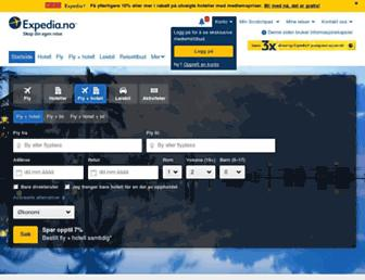 Thumbshot of Expedia.no