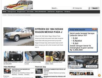 mobil-klasikantik.com screenshot