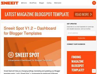 sneeit.com screenshot
