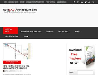 autocad-architecture-blog.com screenshot