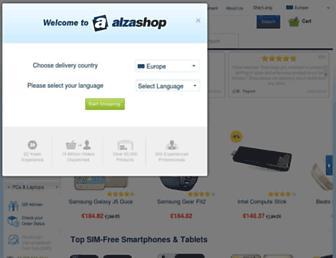 alzashop.com screenshot