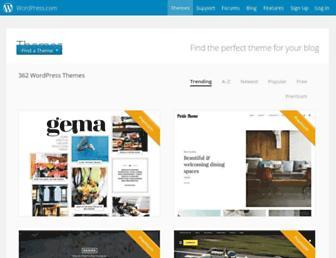 theme.wordpress.com screenshot