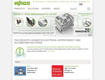wago.com screenshot