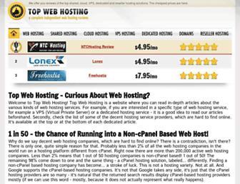 Thumbshot of Topwebhosting.org