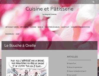 coraline.fr screenshot
