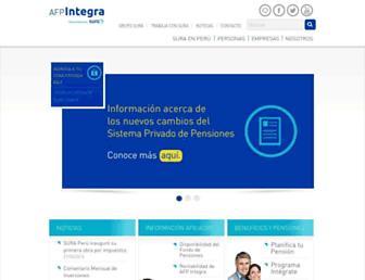 integra.com.pe screenshot