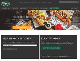 Thumbshot of Sligro.nl