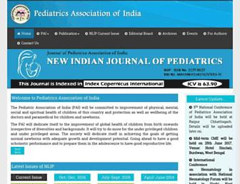 pai-india.org screenshot