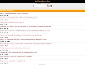 songs.sonymp3.com screenshot
