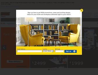 Thumbshot of Ikea-usa.com