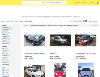 autos.mercadolibre.com.uy screenshot