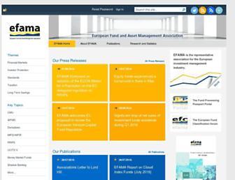 efama.org screenshot