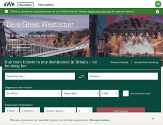 Thumbshot of Firstgreatwestern.co.uk