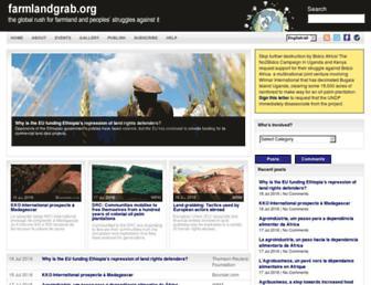 farmlandgrab.org screenshot